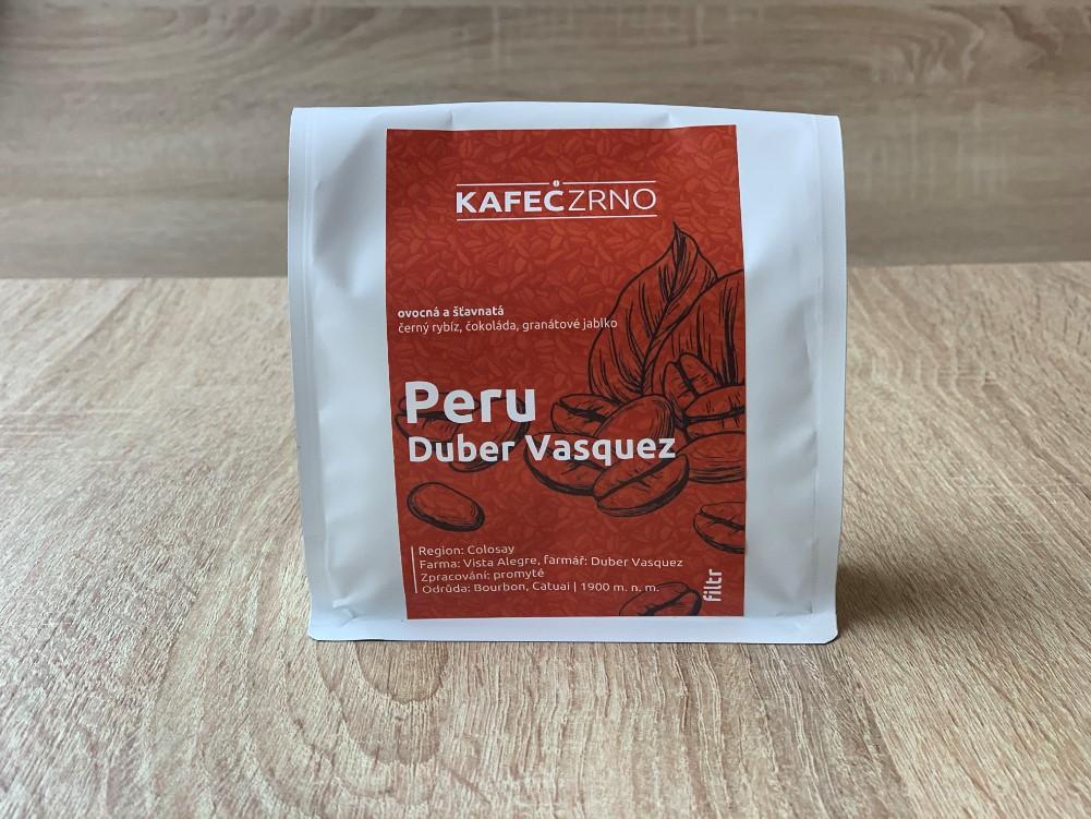 KAFECZRNO Peru filtr káva