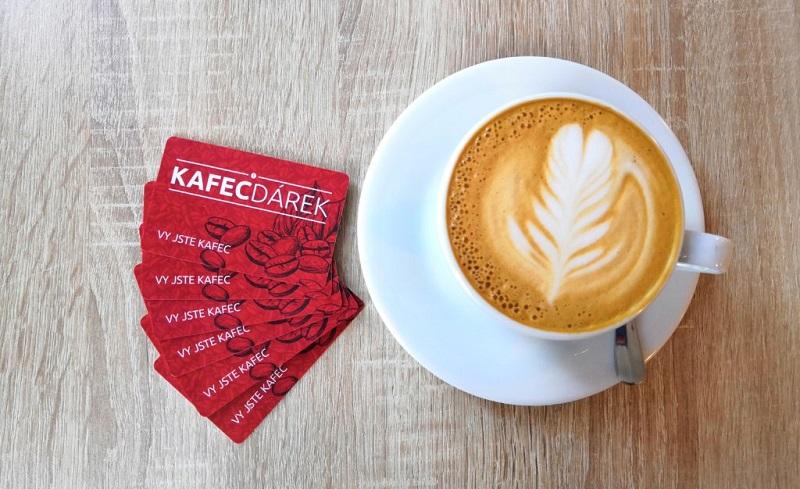 Dárková karta z KAFECU tip na dárek