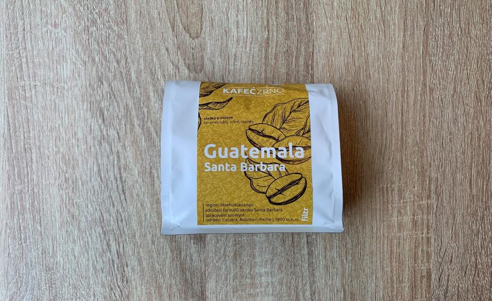 KAFECZRNO Guatemala filtr