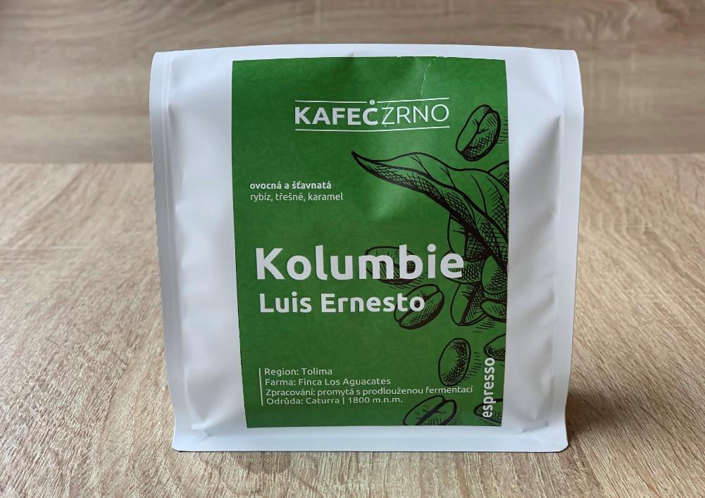 KAFECZRNO Kolumbie espresso na doma